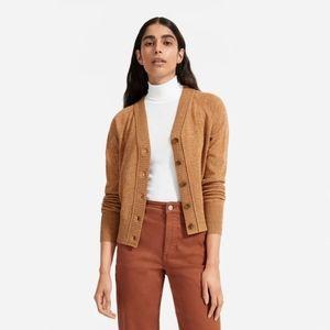 Everlane ReCashmere Varsity Cardigan size M